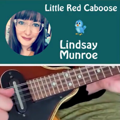 Lindsay Munroe - Little Red Caboose video screen shot